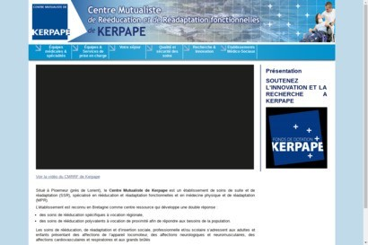 Centre Mutualiste de Reeducation et de Readaptation a Kerpa