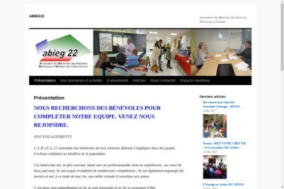Site de l association abieg22