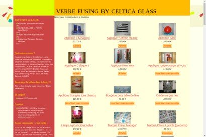 Verre fusing by celtica glass