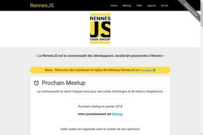 Rennesjs - rennes javascript user group