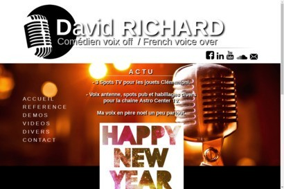 David richard comedien voix off