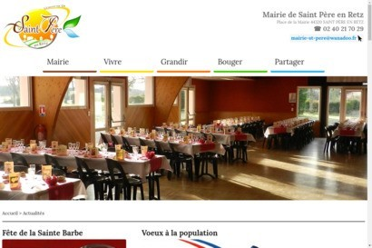 Site officiel de Saint Pere en Retz