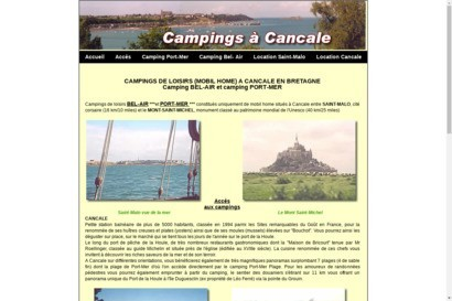 2 campings de mobil-home a Cancale
