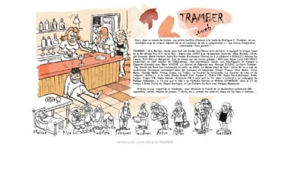 Site officiel du dessinateur Tramber