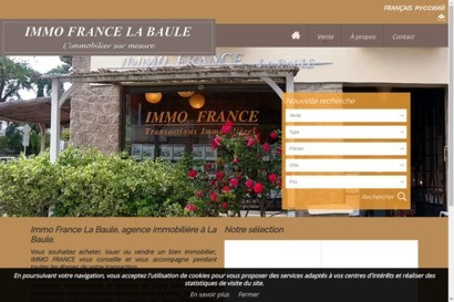 Immo France agence immobiliere
