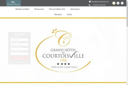 Grand Hotel de Courtoisville Saint Malo