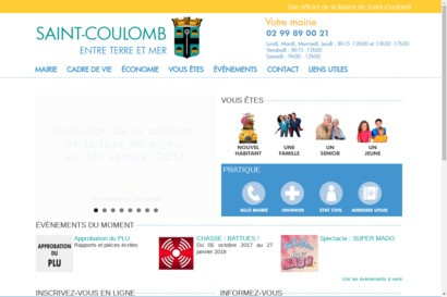 Saint-Coulomb - Site officiel de la mairie