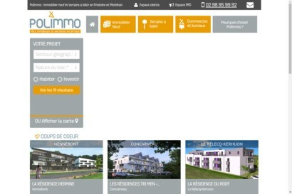 Polimmo Agences immobilieres en Bretagne
