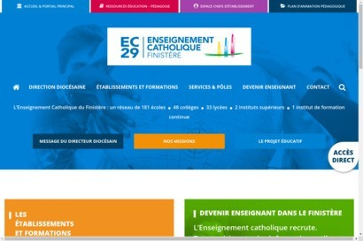 Enseignement catholique du finistere