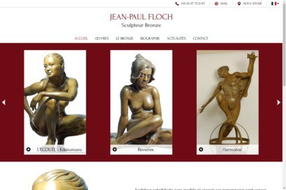 Jean-Paul Floch, sculpteur sur bronze