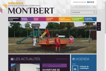 Site officiel de la commune de Montbert