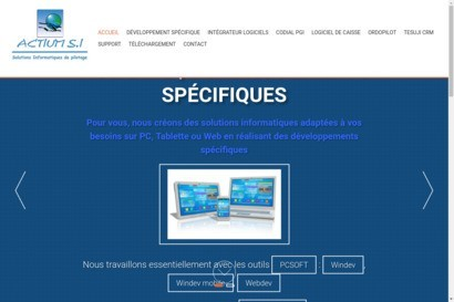 ACTIUM SI, Integrateur en solution de gestion