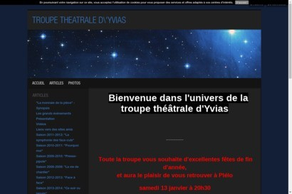 troupe theatrale d yvias