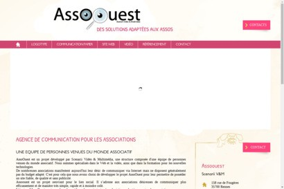 AssoOuest - Site internet pour association