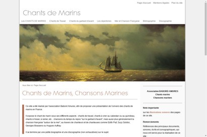 Chants de marins