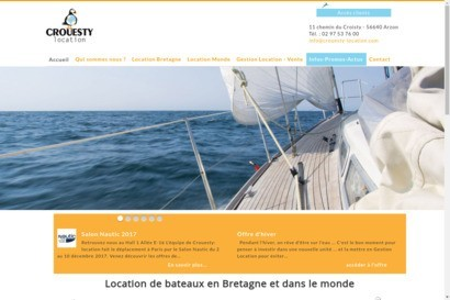 Location catamarans bretagne