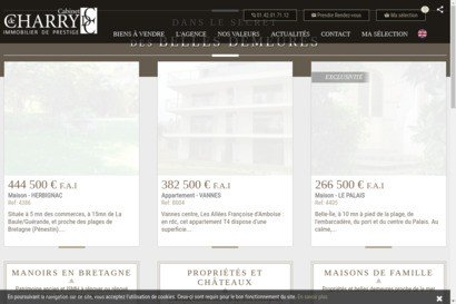 Agence immobiliere morbihan