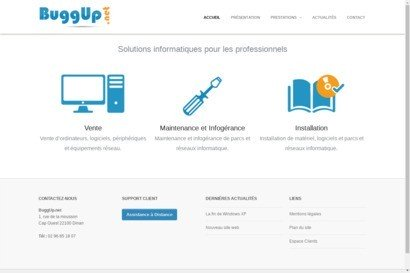 Buggup.Net - depannage informatique et creation de site