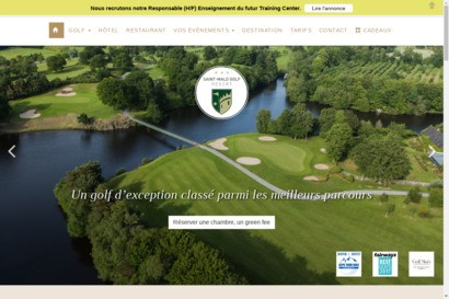 Saint-malo hotel golf  country club