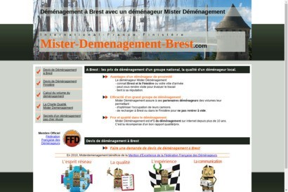 Mister demenagement brest