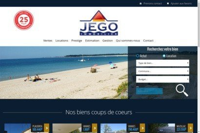 Agence immobiliere Jego