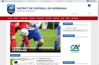 Site officiel du district du morbihan