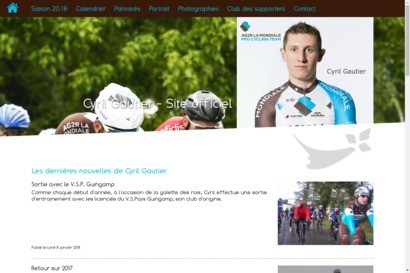 Cyril gautier - site officiel